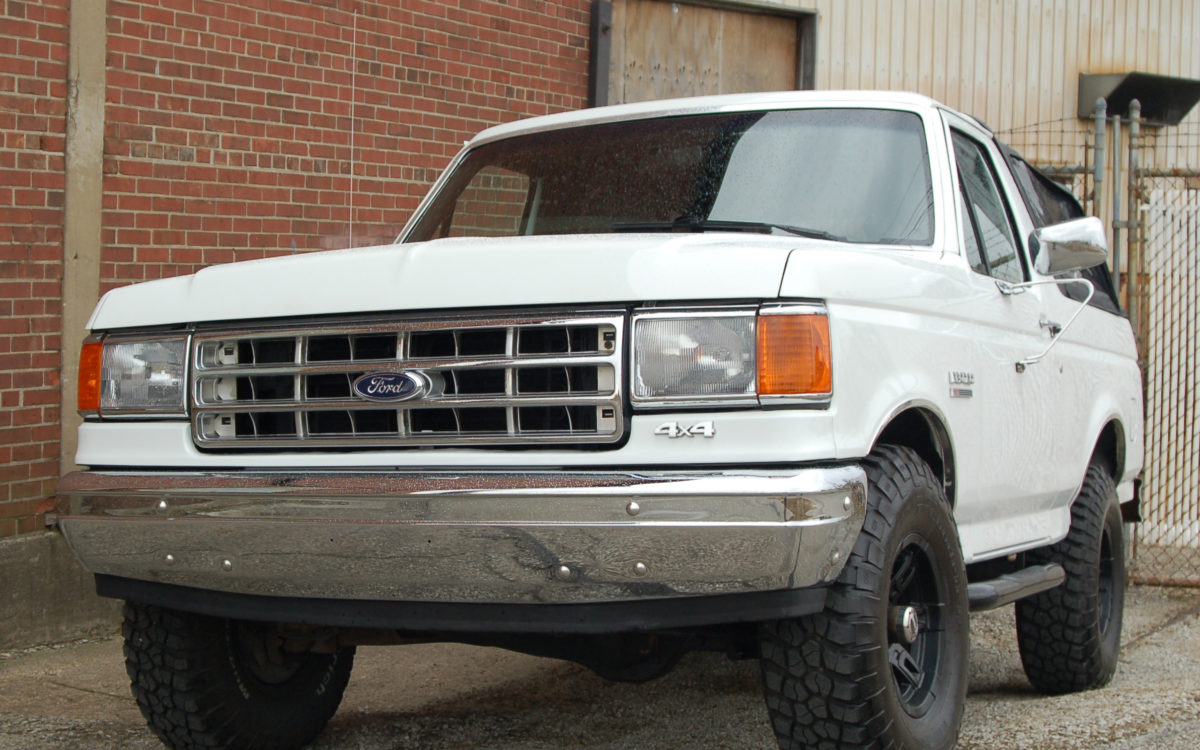 1988 Ford Bronco Sport Utility 2D - Convertible top w ...
